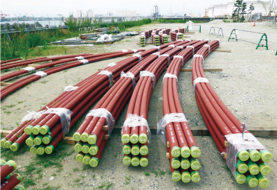 LNG Bottom Part Piping (Heater pipe)