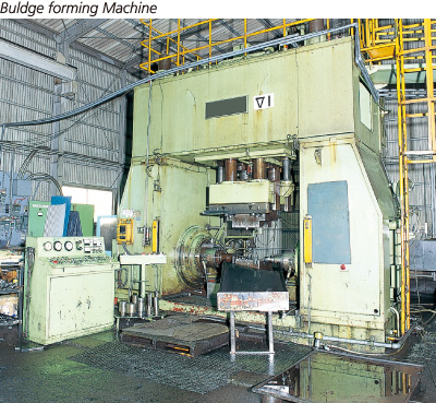 Buldge forming Machine